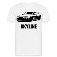 T-Shirts ~ Men's Standard T-Shirt ~ Skyline T Shirt