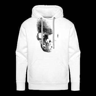 White skull totenkopf pirat Jumpers