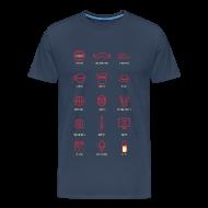 Magliette ~ Maglietta Premium da uomo ~ Things I like AA