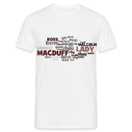 T-Shirts ~ Männer Standard T-Shirt ~ William Shakespeare: Macbeth - T-Shirt