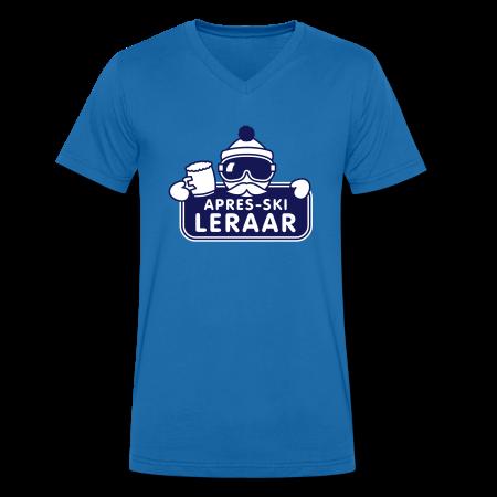 apresski leraar t-shirt koningsblauw