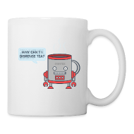 Bottles & Mugs ~ Mug ~ Robot Tea Dispensing Coffee Mug Thing - Mug