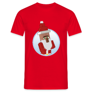 T-Shirts ~ Men's T-Shirt ~ Santa-Villager - Mens