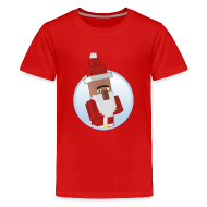 Shirts ~ Teenage Premium T-Shirt ~ Santa-Villager - Teens