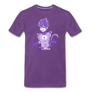 T-Shirts ~ Men's Premium T-Shirt ~ Blackcurrant Squash Monkey Tee