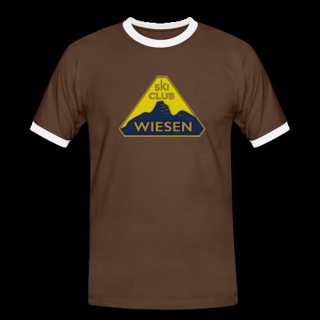 MännerKontrastT-Shirt