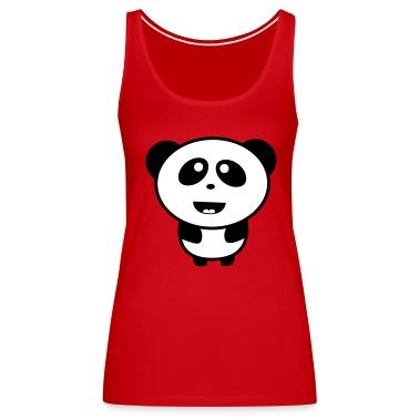 Cute Baby Panda Tops