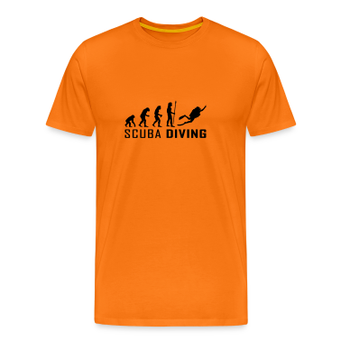 evolution_scuba_diving T-Shirts