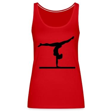 gymnast, gymnastics, balance beam,