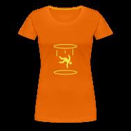 T-Shirts ~ Women's Premium T-Shirt ~ Portal Falling