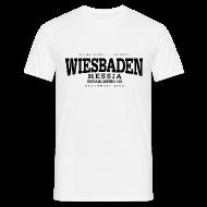 T-Shirts ~ Männer T-Shirt ~ Wiesbaden (black)