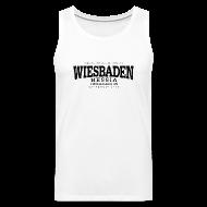 Tank Tops ~ Männer Premium Tank Top ~ Wiesbaden (black old)
