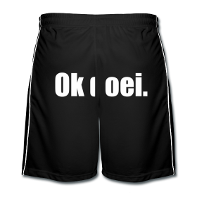 Voetbal shorts, M