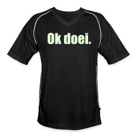 Voetbal shirt, M, Glow In The Dark (voorkant)