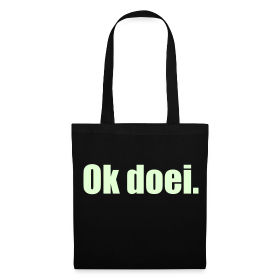 Stoffen tas, Glow In The Dark