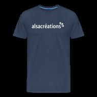 Tee shirts ~ Tee shirt Premium Homme ~ Tshirt Alsacreations simple