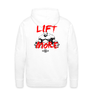 Hoodies & Sweatshirts ~ Men's Hoodie ~ LIFT MORE | Mens