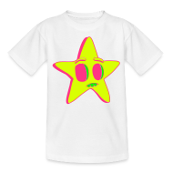 Shirts ~ Kids' T-Shirt ~ Neon Star