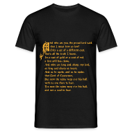 Magliette ~ Maglietta da uomo ~ The Rains of Castamere (Game of Thrones) t-shirt uomo