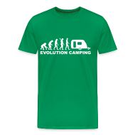 T-Shirts ~ Men's Premium T-Shirt ~ Evolution Camping