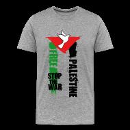 Tee shirts ~ Tee shirt Premium Homme ~ Free Palestine