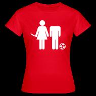 Fußballpärchen T-Shirt