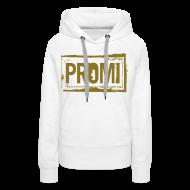 Pullover & Hoodies ~ Frauen Kapuzenpullover ~ Stempel mit Promi Schriftzug Pullover & Hoodies