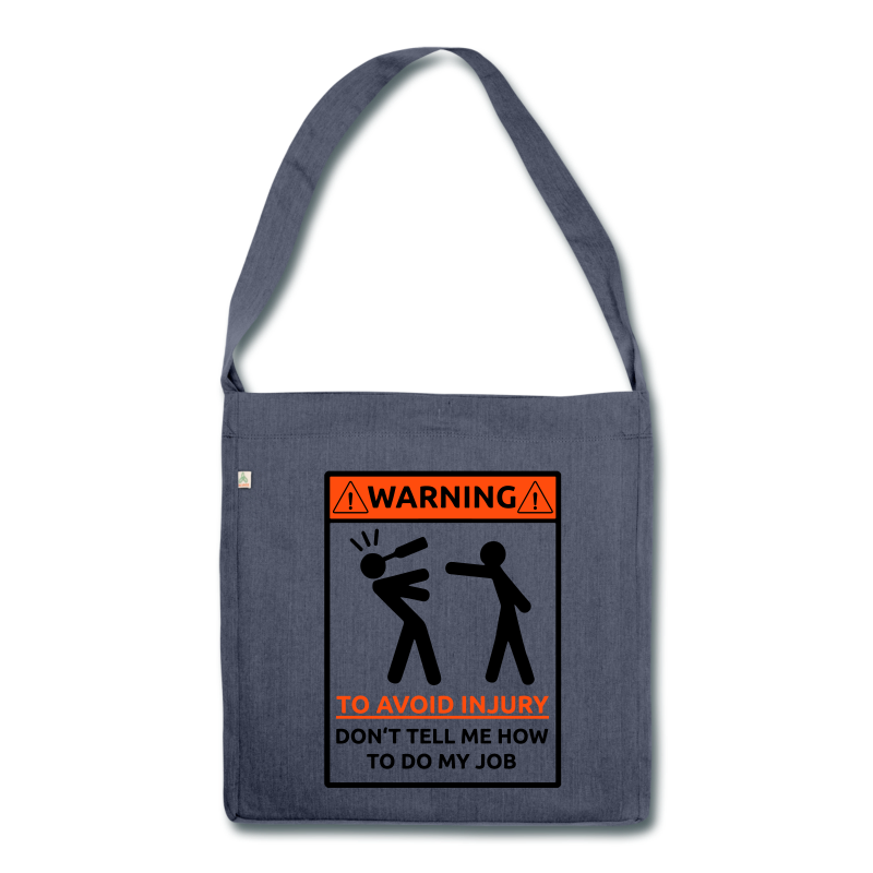 To Avoid Injury - Schultertasche