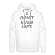 Hoodies & Sweatshirts ~ Men's Hoodie ~ I don't even lift | Mens hoodie