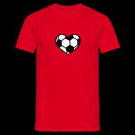Ein Herz für Fußball – T-Shirt