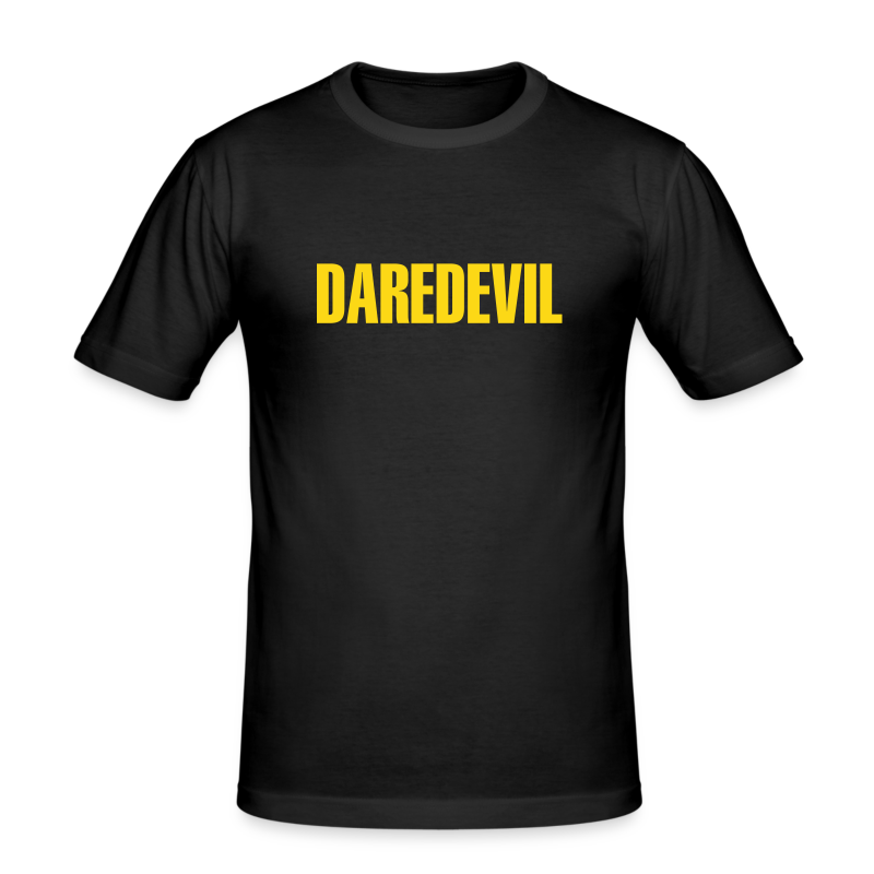 Daredevil Yellow - Men's Slim Fit T-Shirt