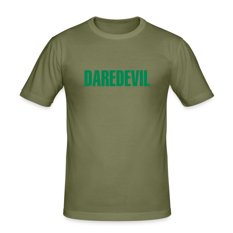 Daredevil Green - Men's Slim Fit T-Shirt