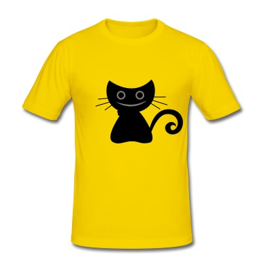 gatto maschile T-shirt