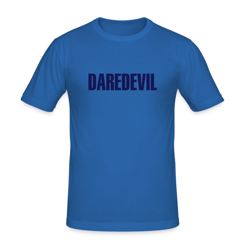 Daredevil Navy - Men's Slim Fit T-Shirt
