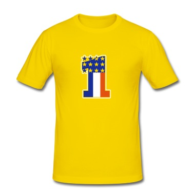 Giallo uovo numero uno / number one (3c) T-shirt