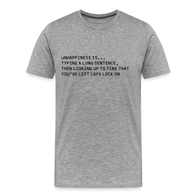 tYPING - Men's Premium T-Shirt