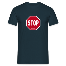 Stop Worrying - Men's T-Shirt