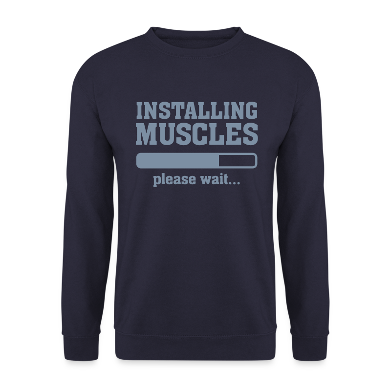 Muscle Download Sweatshirt