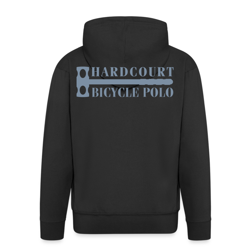 Bike Polo Zipped Hoodie