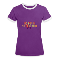 Bi-coloured t-shirt for women