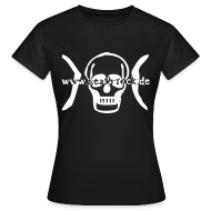 death-rock.de Girly - Frauen T-Shirt
