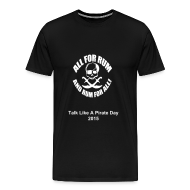 All for rum (light text for dark shirts)