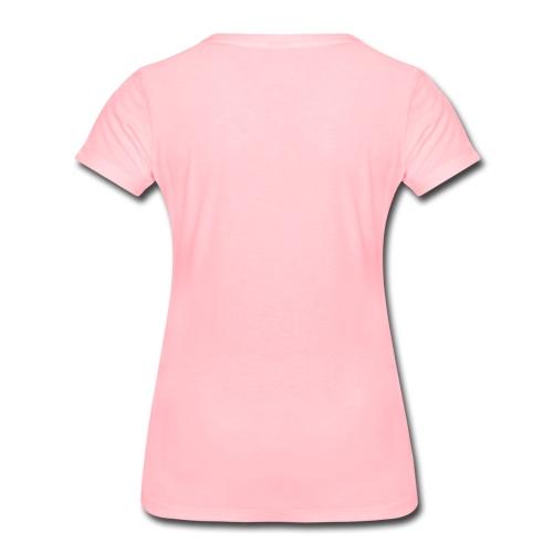 Ich Bin Nur Zum Pöbeln Hier Statement Frauen Premium T-Shirt
