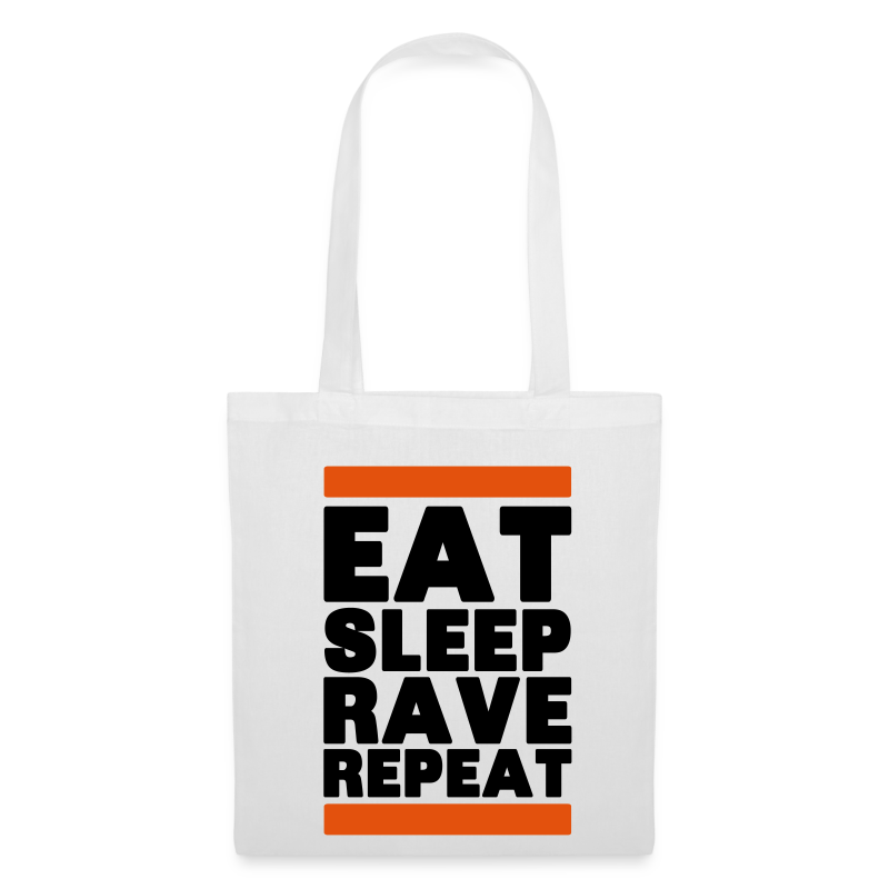 Eat sleep Rave Repeat 2.0 Tasche