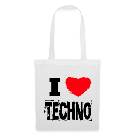 I Love Techno 2.0 Tasche