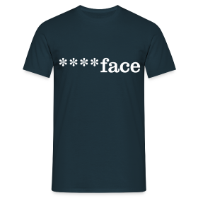 ****face - Men's T-Shirt - Men's T-Shirt