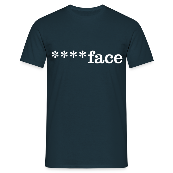 ****face - Men's T-Shirt