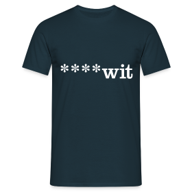 ****wit - Men's T-Shirt - Men's T-Shirt