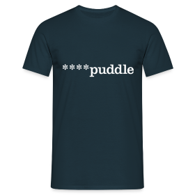 ****puddle - Men's T-Shirt - Men's T-Shirt