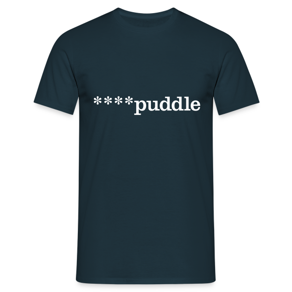 ****puddle - Men's T-Shirt